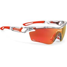 Rudy Project Tralyx Pyöräilylasit , punainen/läpinäkyvä